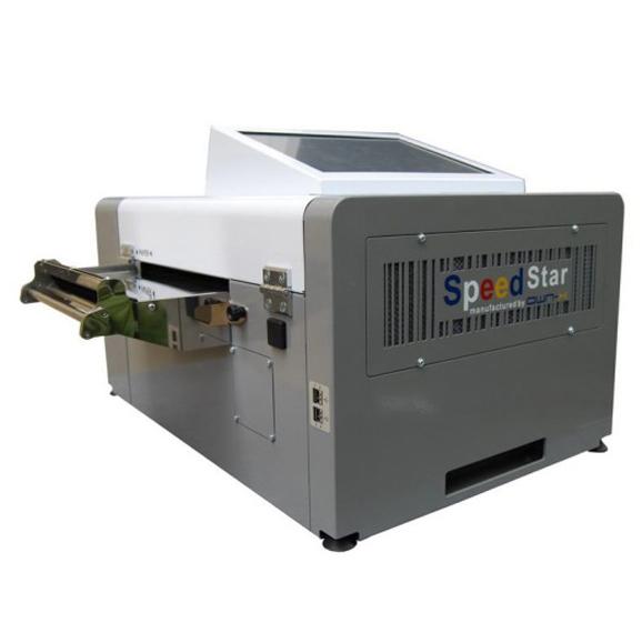 Papierformaterkennung Farbetikettendrucker