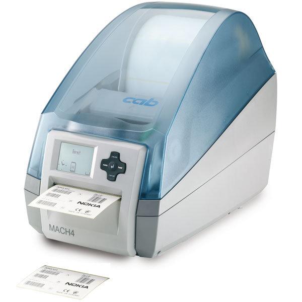Etikettendrucker MACH4C mit Abreißkante und Schneidemesser