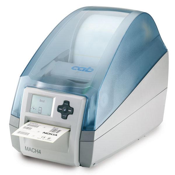 Etikettendrucker MACH4P mit Abreißkante und Spendefunktion