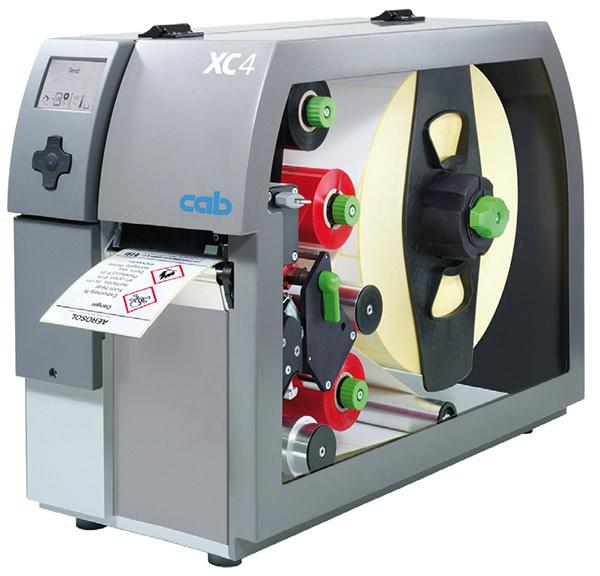 Etikettendrucker der XC-Serie für zweifarbiges Drucken