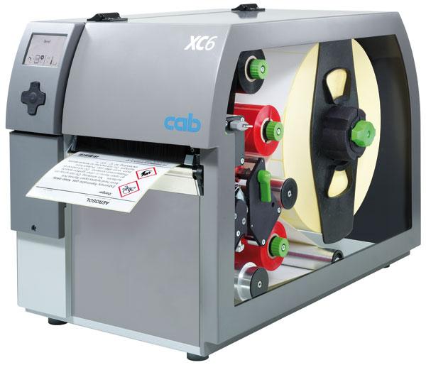 Etikettendrucker XC6 zur zweifarbigen Bedruckung von Etiketten. Druckbreite bis 162.6mm