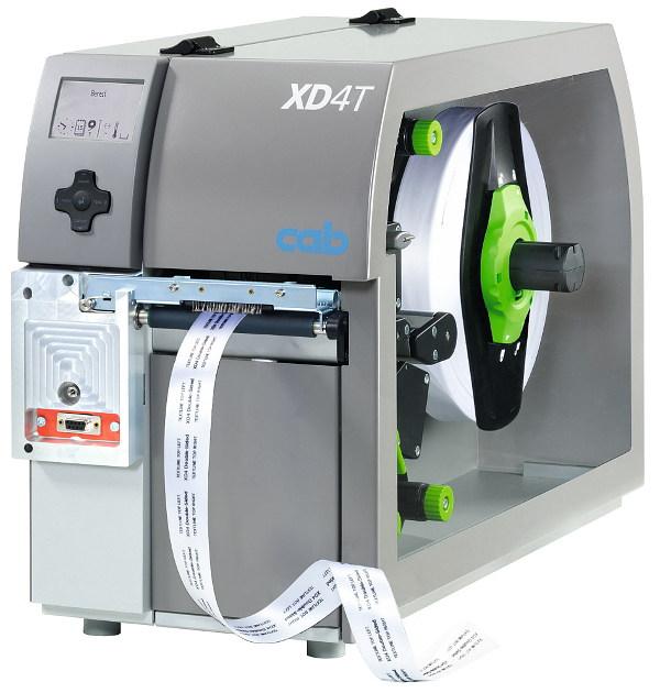 Etikettendrucker XD4T zur beidseitigen Bedruckung von Materialien