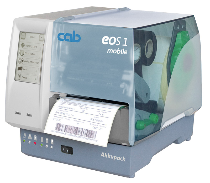 Etikettendrucker EOS1 Mobile