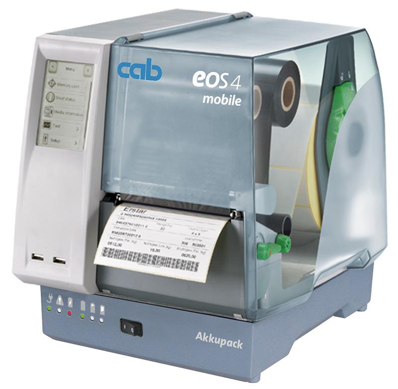 Etikettendrucker EOS4 Mobile