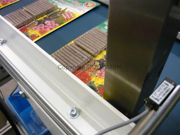 Kennzeichnung von Außenverpackung Düngerstäbchen