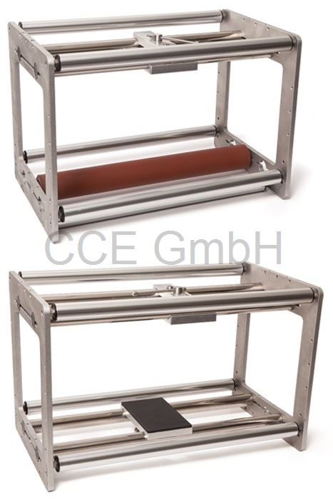 Einbaurahmen für Thermotransferdirektdruckwerk