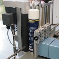 Etikettierung von runden Behältnissen