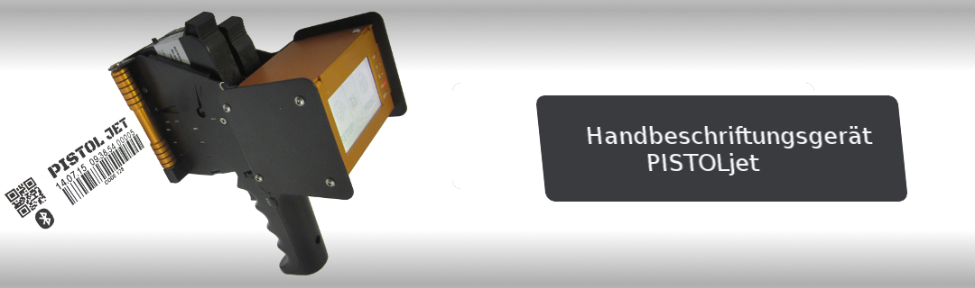 Handbeschriftungsgerät PISTOLjet