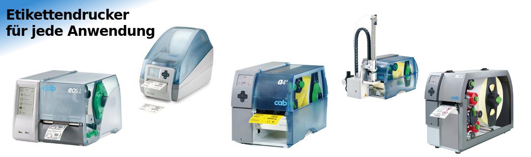 Etikettendrucker, Thermotransferdrucker für jede Anwendung