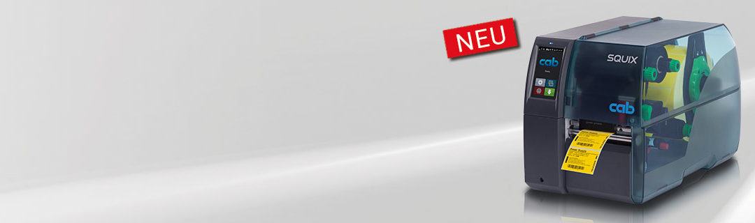 Der neue Etikettendrucker SQUIX