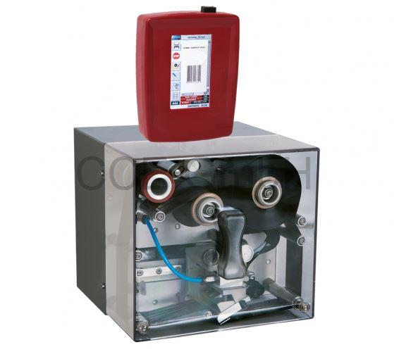 Thermotransferdirektdruckwerk 53mm Druckbreite, 50mm Drucklänge, getaktet