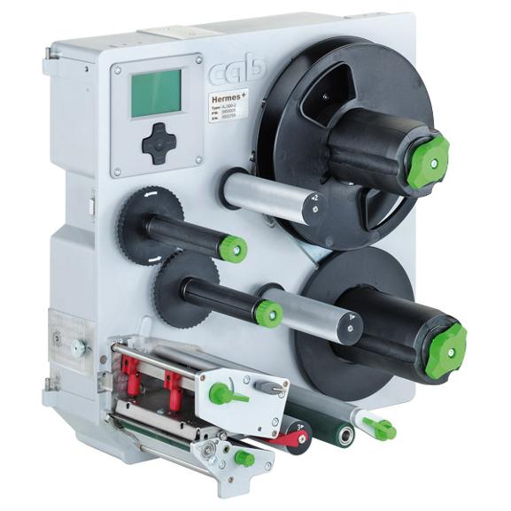 Thermotransfer Etikettendruckspender Hermes+ CAB